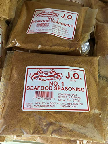 J.O. #1 Seafood Seasoning J O Maryland 6 oz USA