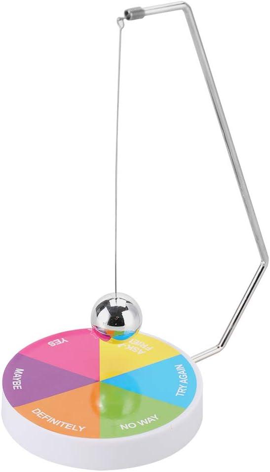 GLOGLOW Office Decoration, Pendulum Dynamic Desk Toy Magnetic Decision Maker Ball Swing Pendulum Office Desk Decoration Toy(Multi-Colors)