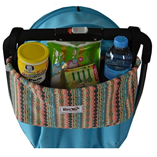 Leeya Kids Baby Child Holder Stroller Organizer Bag, Bow by LEEYA (Image #3)