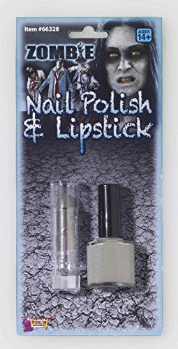 Zombie Nail Polish & Lipstick -
