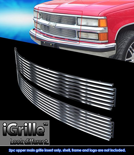 Stainless Steel eGrille Billet Grille Grill For 94-99 C/K Pickup/Suburban/Blazer/Tahoe (99 Blazer Grill compare prices)