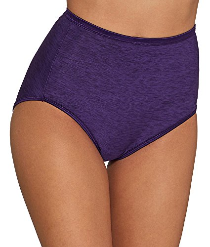 Blackberry Womens (Vanity Fair Women's Illumination Brief Panty 13109, Wild BlackBerry, Large/7)