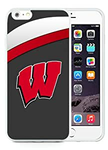 Unique iPhone 6 Plus/iPhone 6S Plus TPU Case ,Fashionable And Durable Designed Case With Ncaa Big Ten Conference Football Wisconsin Badgers 14 White iPhone 6 Plus/iPhone 6S Plus TPU Phone Case