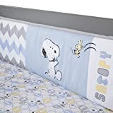 lambs and ivy baby bedding bumper - Lambs & Ivy My Little Snoopy Bumper