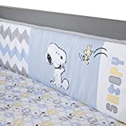Lambs & Ivy My Little Snoopy Bumper