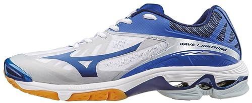 Mizuno Wave Lightning Z2, Zapatillas de Voleibol para Hombre, Blanco (White/Dazzlingblue