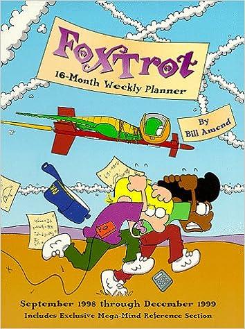 Cal 99 Foxtrot 16 Month Weekly Planner Calendar September 1998
