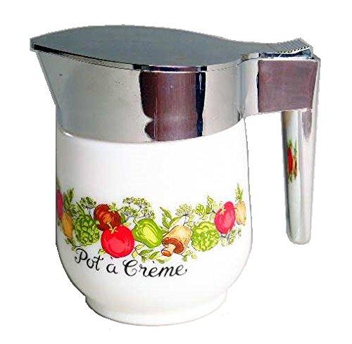 Corning Ware Spice of Life Creamer w/ Lid ( 4 3/4