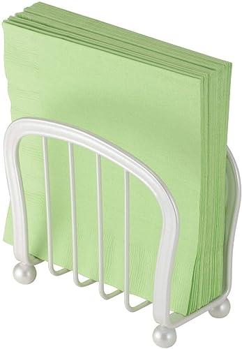 mDesign Modern Decorative Paper Napkin Holder