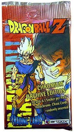 Dragonball Z Series 1 Artbox Trading Card Art Box 24 Booster packs Dragon Ball