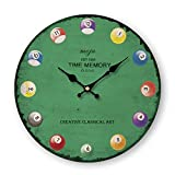 ASIBG Home Fashion Modern Wall Clocks For Living Room, Bedroom And Kitchen,16 Inches,