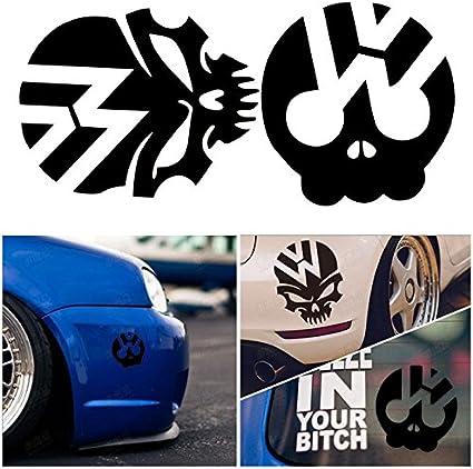 Pegatinas para luna de Volkswagen Polo Golf GTI Passat, diseño de ...