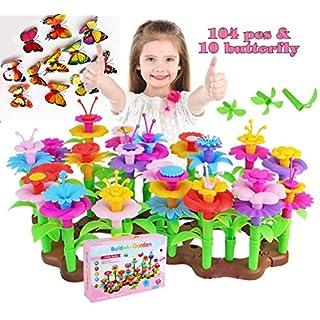 HAPISIMI Bulding Block and Flower Set