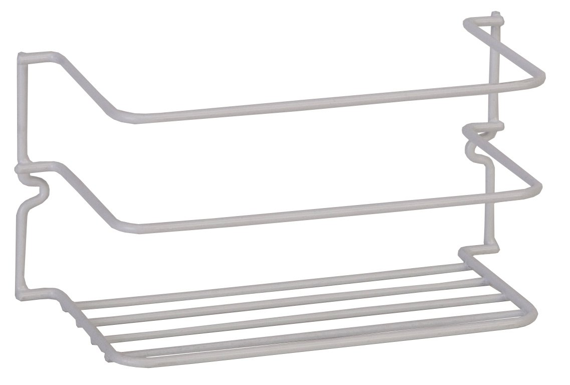 Panacea Products (40500) White 8.63 x 4 x 4.38 Handy Kaddy Cabinet Rack