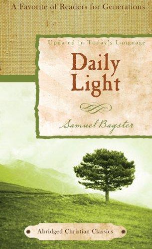 Book Light Abridged Edition - Daily Light (Abridged Christian Classics)