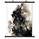 dragon quest wall scroll - Nier Automata Video game Wall Scroll Poster (32x39) Inches