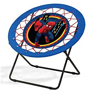 spiderman bungee chair fun chair great for children play room furniture by marvel. Black Bedroom Furniture Sets. Home Design Ideas