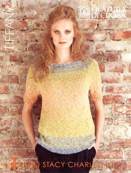 (Filatura di Crosa Tiffany Collection Knitting Pattern Book)