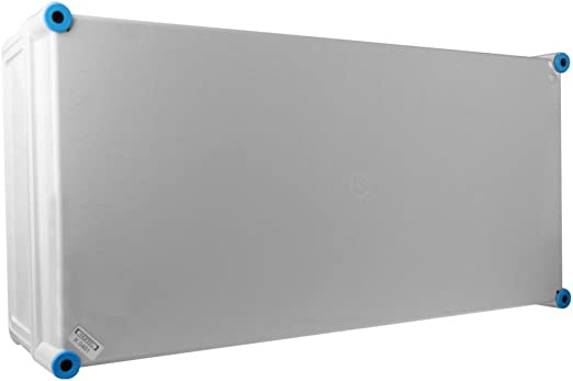Caja de conexiones Hensel para tomas de corriente, con tapa gris ...