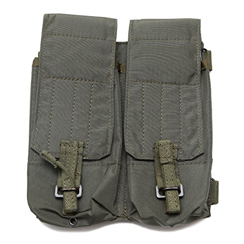 SSO/SPOSN Russian Tactical Saiga Vepr 12 Gauge Double mags Pouch Belt Mounted