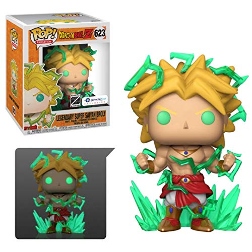 Galactic Toys Funko Pop! DBZ Broly 6 Exclusive - 1 in 6 Chase
