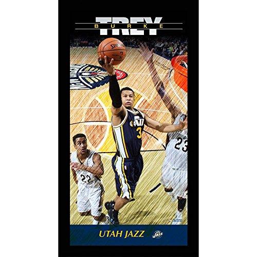 Steiner Sports NBA Trey Burke Utah Jazz Player Profile Wall Art Framed Photo