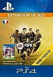 1 050 Points FIFA 16  [Extension De Jeu] [Code Jeu PSN PS4 - Compte français]