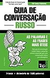 capa de Guia de Conversação Portuguès-Russo E Dicionário Conciso 1500 Palavras
