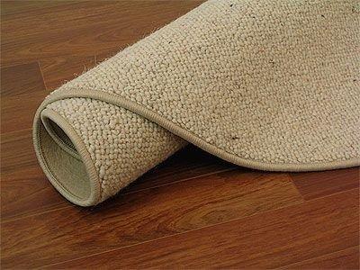 Natur Teppich Wolle Berber Beige Rund In 7 Grossen Amazon De Kuche