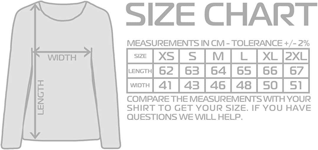 The Mermaid Conviction Volume Units Meter II Donna Maglie a Manica Lunga Taglie XS 2XL