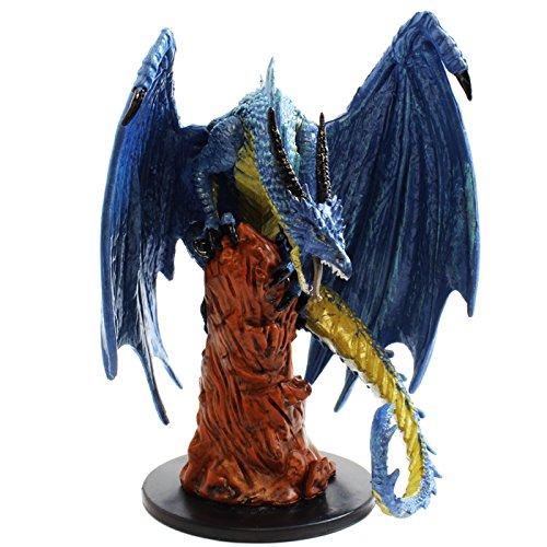 (Pathfinder Battles: Maze of Death - Large Blue Dragon #42)