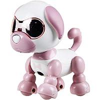 guoYL26sx Toys Interactive Robot Smart Puppy Dog LED Eyes Walking Recording Children Kids Toy - Pink