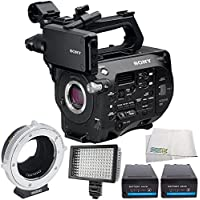 Sony PXW-FS7 XDCAM Super 35 Camera System 6PC Accessory Bundle – Includes Metabones Canon EF/EF-S Lens to Sony E Mount T CINE Smart Adapter + MORE