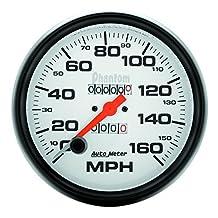 Auto Meter 5895 Phantom In-Dash Mechanical Speedometer by Auto Meter