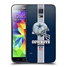 Official NFL Helmet Dallas Cowboys Logo Replacement Battery Cover for Samsung Galaxy S5 / S5 Neo