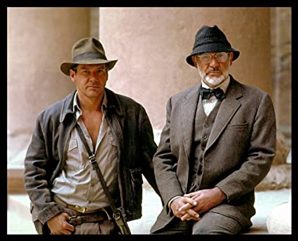 f6739464afb95 Amazon.com   Indiana Jones Last Crusade 8x10 Photo 01 Harrison Ford Sean  Connery   Other Products   Everything Else