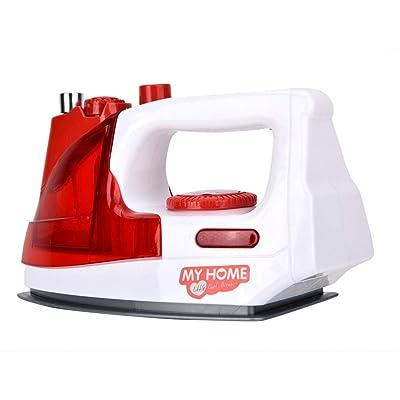VGEBY1 Juego de electrodomésticos, Juguete de simulación de electrodomésticos para niños(Plancha electrica): Deportes y aire libre