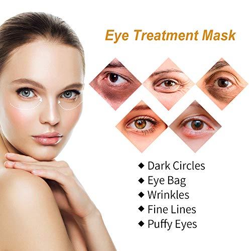 51BFM 0MhbL - Under Eye Pads, Eye Treatment Masks, Anti-Aging Mask, Eye Patches, Natural Eye Mask with Retinol, Anti Aging, Dark Circles and Puffiness, Anti Wrinkle, 50 PCS