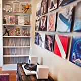 Album Mount Vinyl Record Frame, Wall Mount and