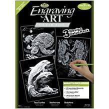 Royal and Langnickel Engraving Art 3 Design Value Pack, Silver