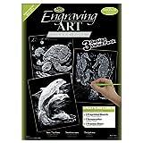 Arts & Crafts : Royal and Langnickel Engraving Art 3 Design Value Pack, Silver