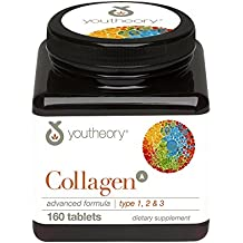 youtheory Collagen Advanced Formula 1, 2 and 3, 160ct