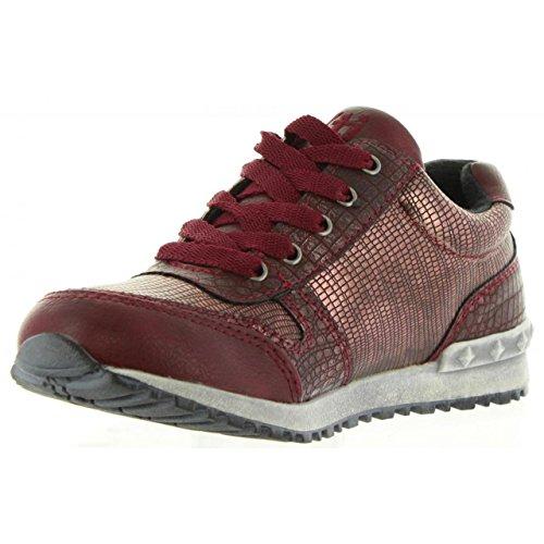 Xti Chaussures de Sport Pour Femme et Fille 53916 Metalizado C BURDEO