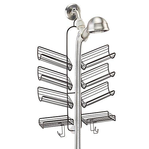 InterDesign Verona Shower Caddy for Hand Held Shower Hose...