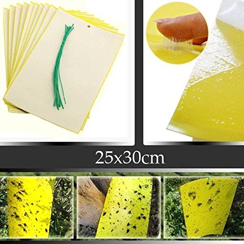 saver-5pcs-25x30cm-yellow-insect-sticky-trap-whiteflies-aphids-thrips-garden-pest-control-tool