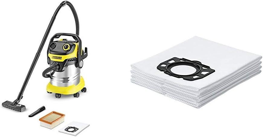 Kärcher 1.348-231.0 Aspiradora en seco y húmedo + Kärcher Bolsas de filtro WD4-WD5-WD6: Amazon.es: Bricolaje y herramientas