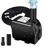 """Best Fountain Pumps - Winkeyes Fountain Pump 200GPH with 63"""" Lift, 15W Review"""
