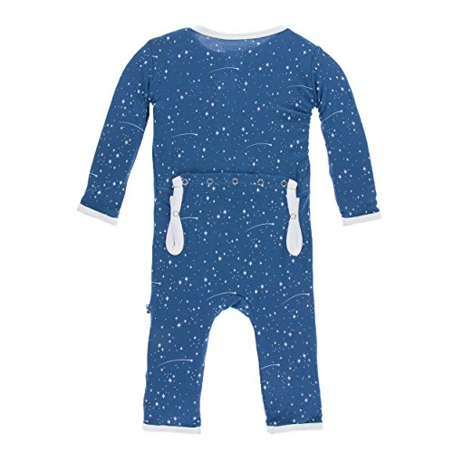 Kickee Pants Print Coverall Twilight Starry Sky (3 - 6 Months)