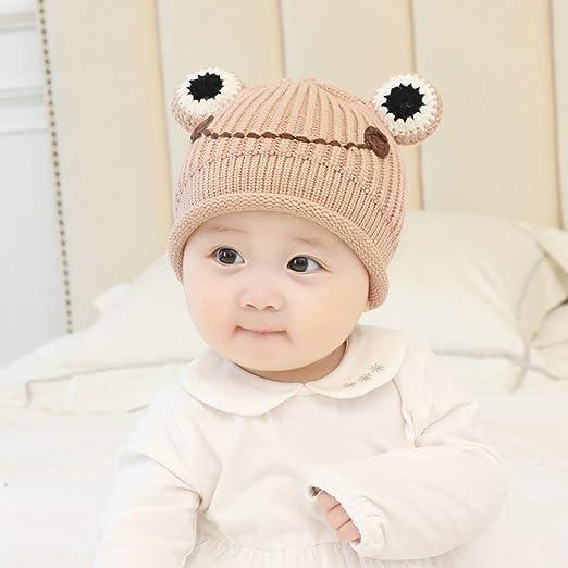 geiqianjiumai Gorro de bebé Gorro de Lana para bebés niños y niñas ...