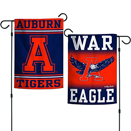 "Wincraft Auburn Tigers 12""x18"" Garden Flag - Blue Orange"